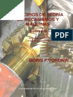 Principios de Teoria de Mecanismos y Maquinas Avanzada Sistema SI Segunda Edicion Corregida y Modificada
