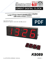 Segment Digital Clock Kit