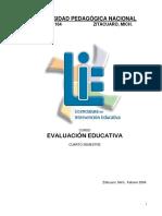 Antologia Evaluacion Educativa