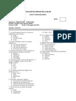 Evaluacion de Entrada - Farmacologia - Toxicologia 2019 II