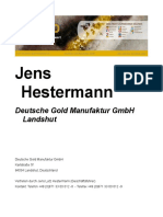 Jens Hestermann Gold