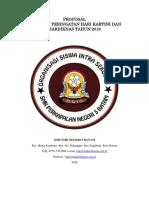 Proposal Kegiatan Memperingati Hari Kartini 21 April 2018