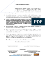 Termo de Acordo - 116