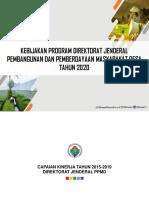 Kebijakan Dan Program Ditjen PPMD-2