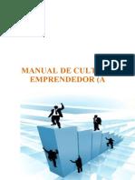 76862755 MANUAL de Cultura Emprendedora