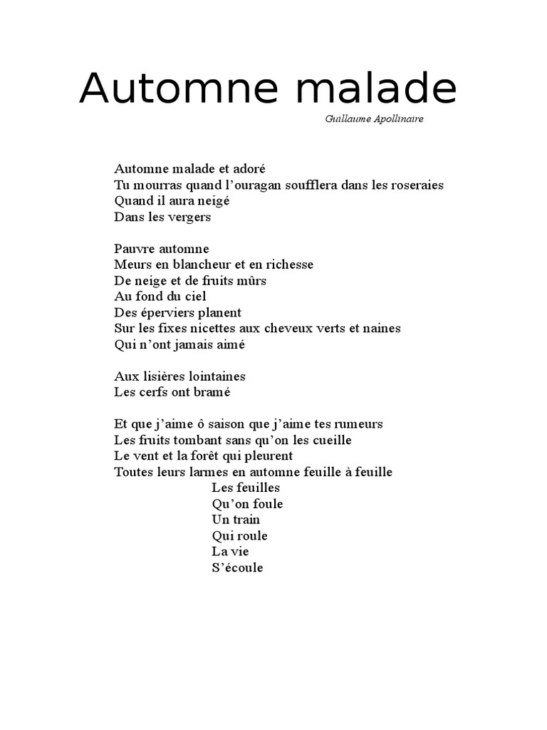Apollinaire Poésie Poétique Discipline