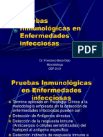 Pruebas Inmunologicas Enf. Infecciosas