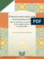 ANDRANGO-WALKER El Símbolo Católico Indiano (1598) de Luis Jerónim... ---- (Pg 1--96)