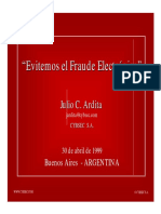 Evitemos el Fraude Electrónico