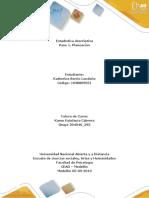 Planeación Estadistica Descriptiva 204040 293