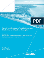 West Point Treatment Plant Independent Evaluation of Mitigation Strategies