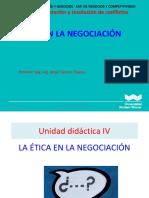 Clase 12 La Etica en La Negociacion 2019-1