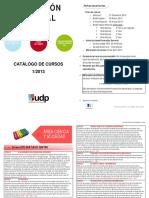 Catalogo FormacionGeneral I 2013