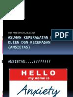 Askep Ansietas