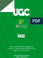 TEORÍAS ADMINISTRATIVAS APLICADAS A LA CONSTRUCCIÓN (1)