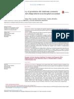 Cambios en el tratamiento y el pronostico  del sındrome  coronario (articulo)