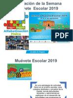 Presentacion Semana Muevete Escolar 2019
