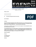 Sponsorship Letter With Packages Wellness