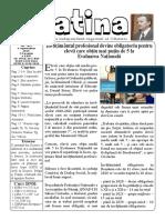 Datina - 6.09.2019 - prima pagină