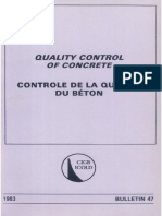 B47 - Quality Control of Concrete