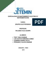 Especialidad de Mantenimiento Eléctrico e Instrumentación