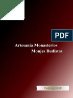 Artesanía Monasterios Monjes Budistas