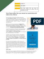 28-5 Daro Rojas Publica Libro Que Rescata Las Caractersticas Del Habla de Los Chilenos