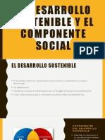 El Desarrollo Sostenible y El Componente Social