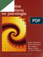 Libro - Parker, Ian_Metodos Cualitativos en Psicologia