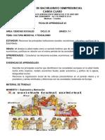 Ficha de Aprendizaje n3 - Cultura Medieval - 7.1