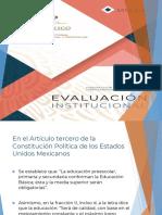 Evaluación Institucional 2018-2019 presentación