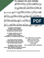 Un Cipayo en Una Zamba Música Nacional