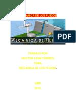 MECANICANICA DE  LOS FLUIDOS.docx