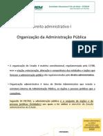 Organização Da Adm. Pública-wqqxjvlppu