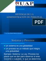Sistemas de Administración de Personal Is
