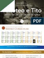 Slides - Timóteo e Tito - Lição 1