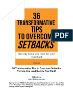 36 Transformative Tips to Overcome Setbacks