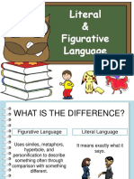 Literal and Figurative Language SIM