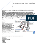 Identificación de Los Componentes de Un Sistema Neumático e Hidráulico