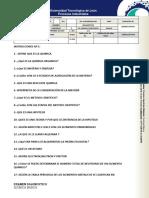 Examen Diagnostico QUIMICA BASICA