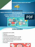 Presentacion de Auditoria y Control Interno 10 Semestre Cartilla 1 Parte Raul