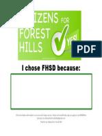 I Chose FHSD