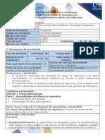 Guia de Actividades y Rubrica de Evaluacion - Pre-tarea - Generalidades Del Dibujo de Ingenieria (1)