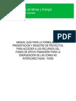Manual Para Presentar Proyectos Solar