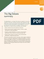 ENG 3 the Big Debate