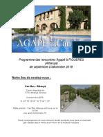 FIGUERES (Albanya) - Septembre à Décembre 2019