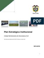 Plan Estratégico Institucional 2015-2018