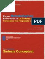 Sintesis de Conceptos y Propuesta Conceptual
