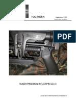 Ruger Precision Rifle (Rpr) Gen 3