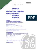 Manual de Operação - DASH 3K, 4K e 5K